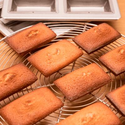 Histoire de pâtisserie – Les financiers aux amandes